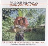 FINGGUY FLANG & LUMING TUAN - Philippines Musiques De Luth En Pays T'boli : BUDA MUSIQUE (FRA)