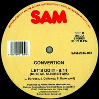 CONVERTION - LET'S DO IT (KRYSTAL KLEAR Remix) : SAM (US)