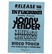 JONNY SENDER - Zhivago Zhivago : CODEK (SWI)