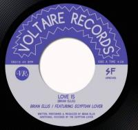 BRIAN ELLIS - Love Is feat. EGYPTIAN LOVER : 7inch