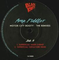 AMP FIDDLER - Motor City Booty - Mixes : 12inch