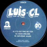 LUIS CL - IT'S GETTING BETTER : 12inch