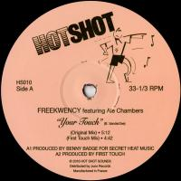 FREEKWENCY - Your Touch EP : HOT SHOT SOUNDS (AUS)