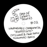 WEDNESDAY CAMPANELLA - Momotaro Remixes : 10inch