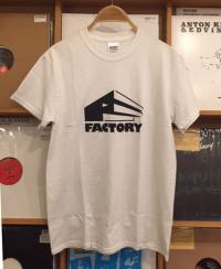 FACTORY - Logo T-Shirts White M-Size : FACTORY (JPN)