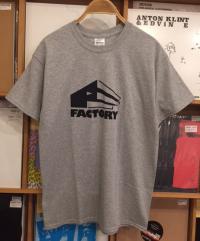 FACTORY - Logo T-Shirts Gray M-Size : WEAR