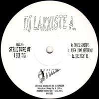 DJ LAXXISTE A - Structure of Feeling : 12inch