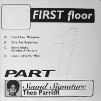 THEO PARRISH - First Floor (Part 1) : 2LP