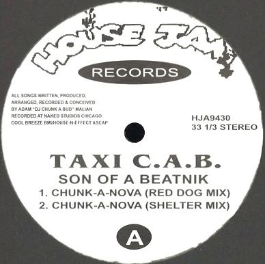 TAXI C.A.B. - Son Of A Beatnik : HOUSE JAM (US)