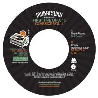 THE 3 PIECES & JOHNNY HAMMOND - Mukatsuku Presents First Time On A 45 Classics Volume.1 : 7inch