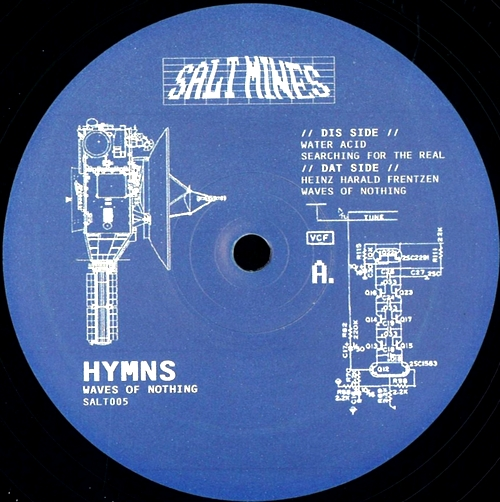 HYMNS - Waves of Nothing EP : SALT MINES (AUS)