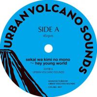 ????絎? & URBAN VOLCANO SOUNDS / ICHIHASHI DUBWISE - sekai wa kimi no mono ? hey young world : URBAN VOLCANO SOUNDS (JPN)