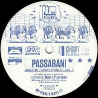 PASSARANI - Analog Fingerprints Vol.1 : NUMBERS (UK)