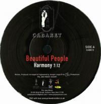 BEAUTIFUL PEOPLE - Harmony / I've Got The Rhythm : CABARET (US)