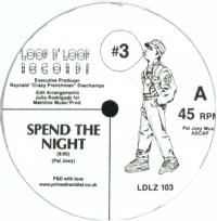 PAL JOEY - #3 - Spend The Night / Flight 801 : 12inch