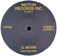 RED GREG - Movin : MOTON (UK)