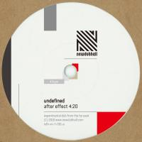 UNDEFINED - After Effect : 7inch