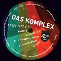 DAS KOMPLEX - UNDER FEET EP : 12inch