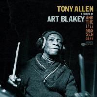 TONY ALLEN - A Tribute To Art Blakey & The Jazz Messengers : 10inch