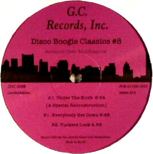 VARIOUS - Disco Boogie Classics Vol.8 : 12inch