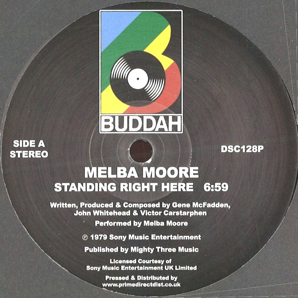 MELBA MOORE - Standing Right Here / Make Me Believe in You : BUDDAH (US)