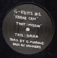 G. MARKUS - G-Edits #2 Xhaka Can : 12inch