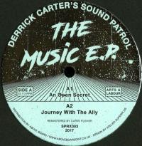 DERRICK CARTER'S SOUND PATROL ORCHESTRA - THE MUSIC E.P. : 12inch