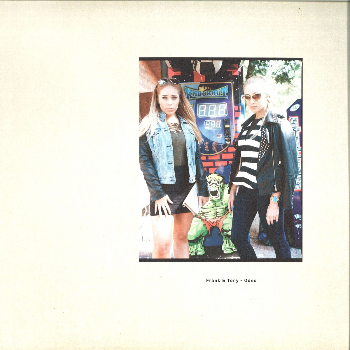 FRANK & TONY - Odes : SCISSOR AND THREAD (US)