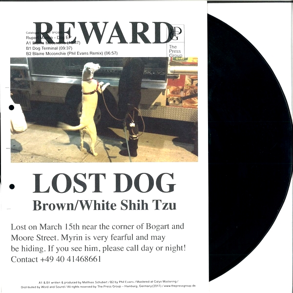 RUPERT MARNIE - Dog EP : THE PRESS GROUP (GER)
