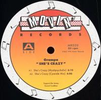 GRAMPA - She's Crazy : MOVIN' (US)