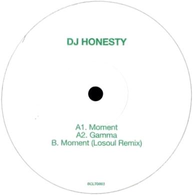 DJ HONESTY - Moment EP : BASS CULTURE (FRA)