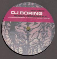 DJ BORING - Hidden Messages E.P. : 12inch