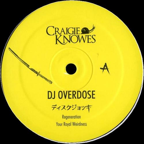 DJ OVERDOSE - Mindstorms EP : CRAIGIE KNOWES (HOL)