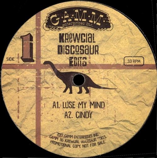 KREWCIAL - Discosaur Edits : G.A.M.M. (SWE)