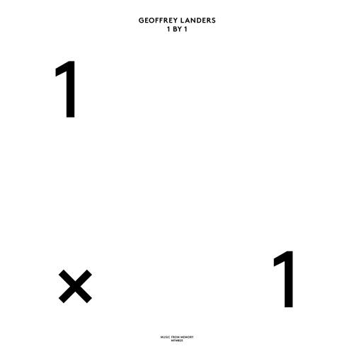 GEOFFREY LANDERS - 1 BY 1 : MUSIC FROM MEMORY <wbr>(HOL)