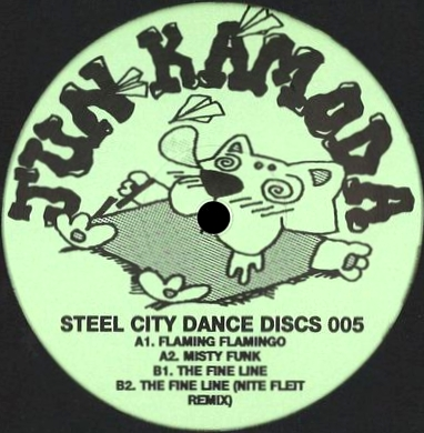 JUN KAMODA - Misty Funk EP : STEEL CITY DANCE DISCS (UK)