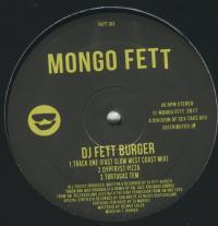 DJ FETT BURGER - FETT 303 : 12inch