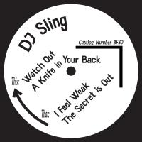 DJ SLING - The Secret EP : BORN FREE (SWE)