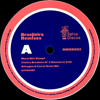 MARIA RITA STUMPF - Brasileira Remixes : OPTIMO MUSIC SELVA DISCOS (UK)