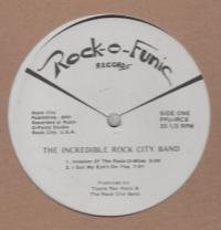 THE INCREDIBLE ROCK CITY BAND - Invasion Of The Rock-O-Mites : 12inch