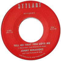 JONNY BENAVIDEZ & COLD DIAMOND & MINK - Tell Me That You Love Me : 7inch
