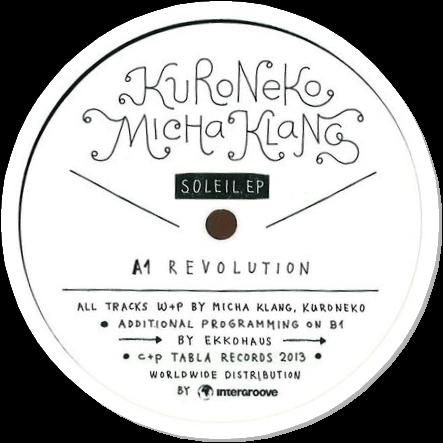MICHA KLANG + KURONEKO - Soleil EP : 12inch