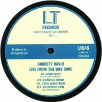 GARRETT DAVID - Live From The Dog Cave : 12inch