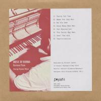 AUNG KYAW MYO - Music Of Burma - Burmese Piano : CD