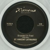 ST.VINCENT LATINAIRES / MUDIES ALL STARS - Broasted Or Fried / Loran's Dance : 7inch