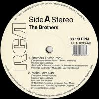 THE BROTHERS - THE BROTHERS THEME : 12inch