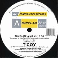 T-COY - CARIÑO : DECONSTRUCTION (UK)