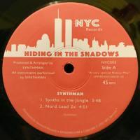 SYNTHMAN / KOZMIK FUNK - Hiding In The Shadows : 12inch