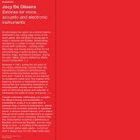 JOCY DE OLIVEIRA - Est坦rias Para Voz, Instrumentos Ac炭sticos e Eletr担nic : BLUME (ITA)