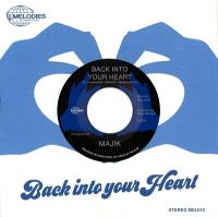 MAJIK - Back Into Your Heart : MELODIES (UK)